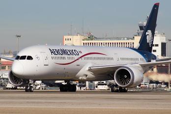 N446AM - Aeromexico Boeing 787-9 Dreamliner