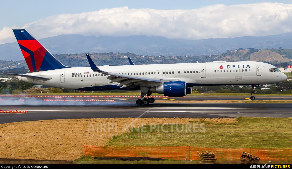 Delta Air Lines N687DL aircraft at San Jose - Juan Santamaría Intl