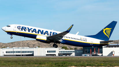 EI-DHF - Ryanair Boeing 737-8AS