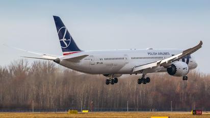 SP-LSA - LOT - Polish Airlines Boeing 787-9 Dreamliner