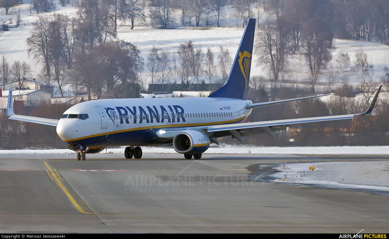 Ryanair SP-RSB aircraft at Kraków - John Paul II Intl