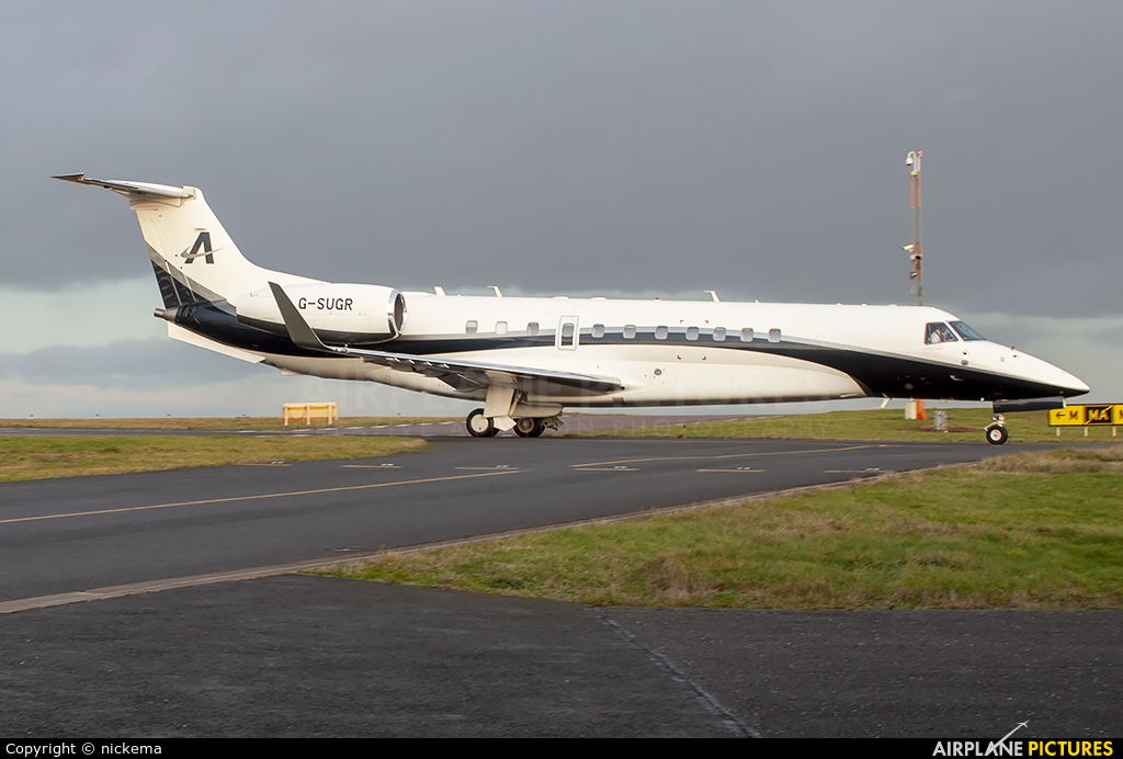 Air Charter Scotland G-SUGR aircraft at East Midlands