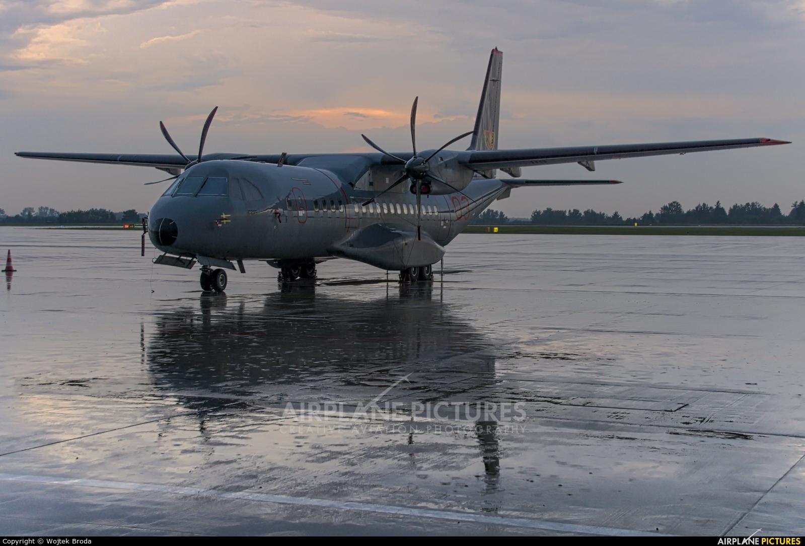 Kazakhstan - Air Force 03 RED aircraft at Warsaw - Frederic Chopin