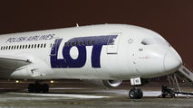SP-LRD - LOT - Polish Airlines Boeing 787-8 Dreamliner aircraft