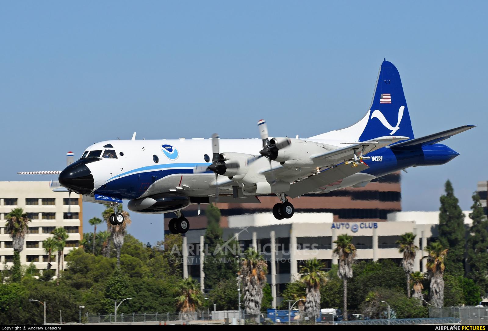 USA - Government N42RF aircraft at Long Beach - Daugherty Field