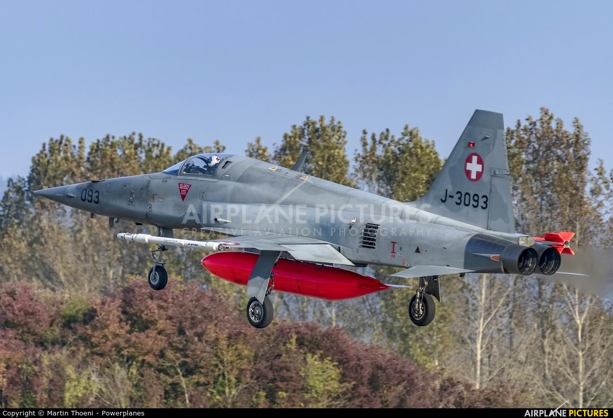 Switzerland - Air Force J-3093 aircraft at Payerne
