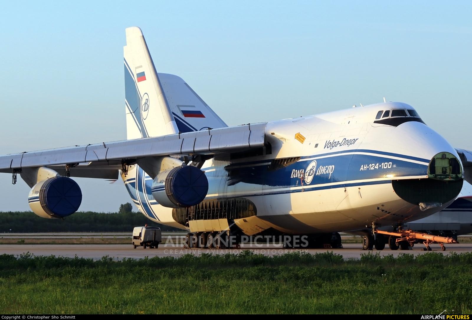 Volga Dnepr Airlines RA-82042 aircraft at Leipzig - Halle
