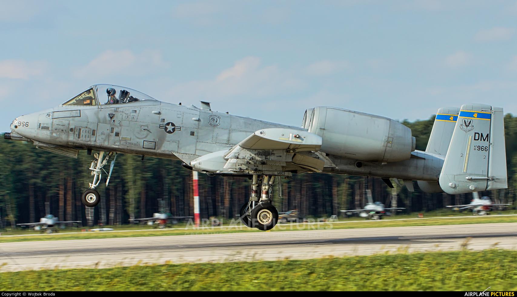 USA - Air Force 81-0966 aircraft at Łask AB