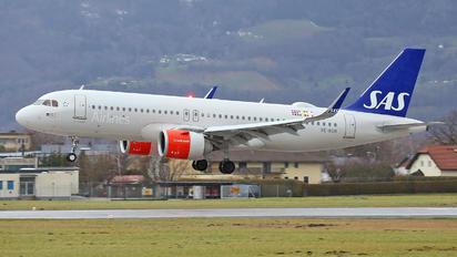 SE-RON - SAS - Scandinavian Airlines Airbus A320 NEO