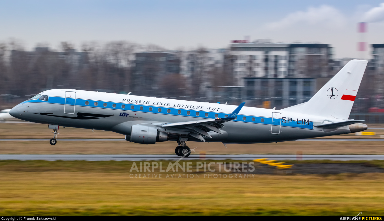 LOT - Polish Airlines SP-LIM aircraft at Warsaw - Frederic Chopin