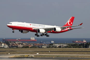 TC-CAN - Turkey - Government Airbus A340-500