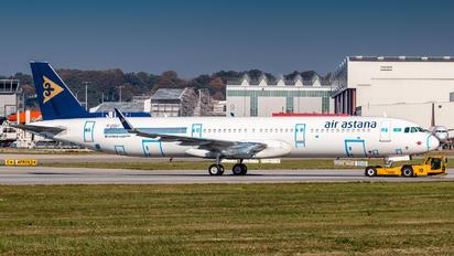 D-AYAJ - Air Astana Airbus A321 NEO