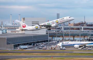 JA254J - J-Air Embraer ERJ-190 (190-100)