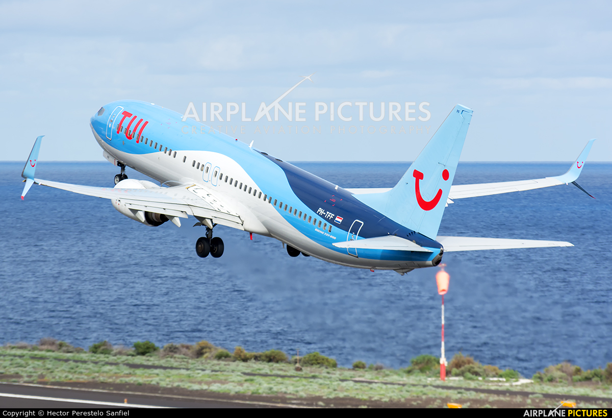 TUI Airlines Netherlands PH-TFF aircraft at Santa Cruz de La Palma