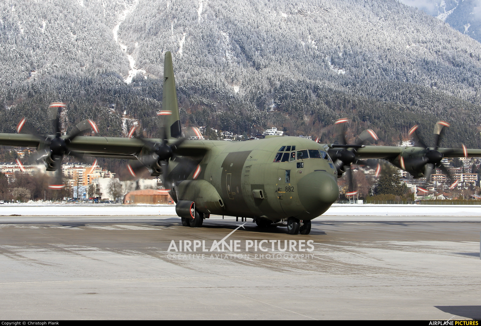 Royal Air Force ZH882 aircraft at Innsbruck