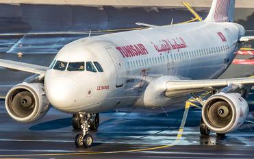 TS-IMM - Tunisair Airbus A320