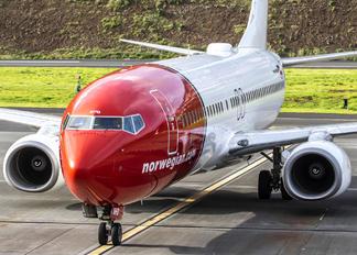 LN-NHD - Norwegian Air Shuttle Boeing 737-800