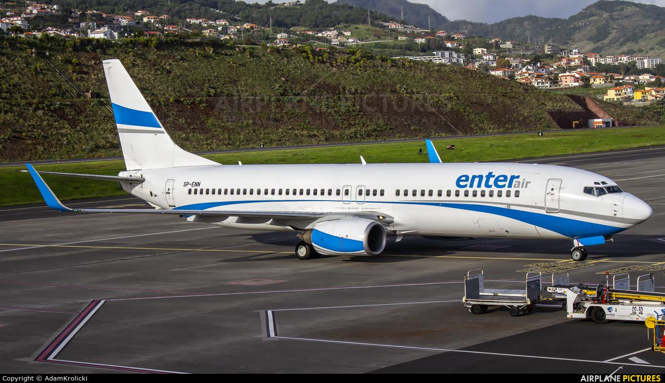 Enter Air SP-ENN aircraft at Madeira