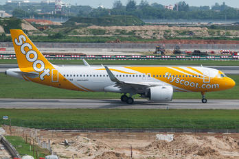 9V-TNA - Scoot Airbus A320 NEO