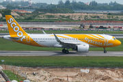 First Airbus A320neo for Scoot title=
