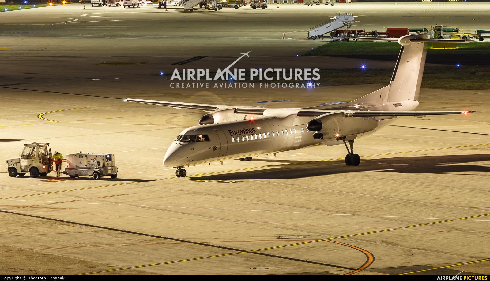 Eurowings D-ABQK aircraft at Düsseldorf