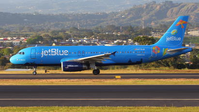 N779JB - JetBlue Airways Airbus A320