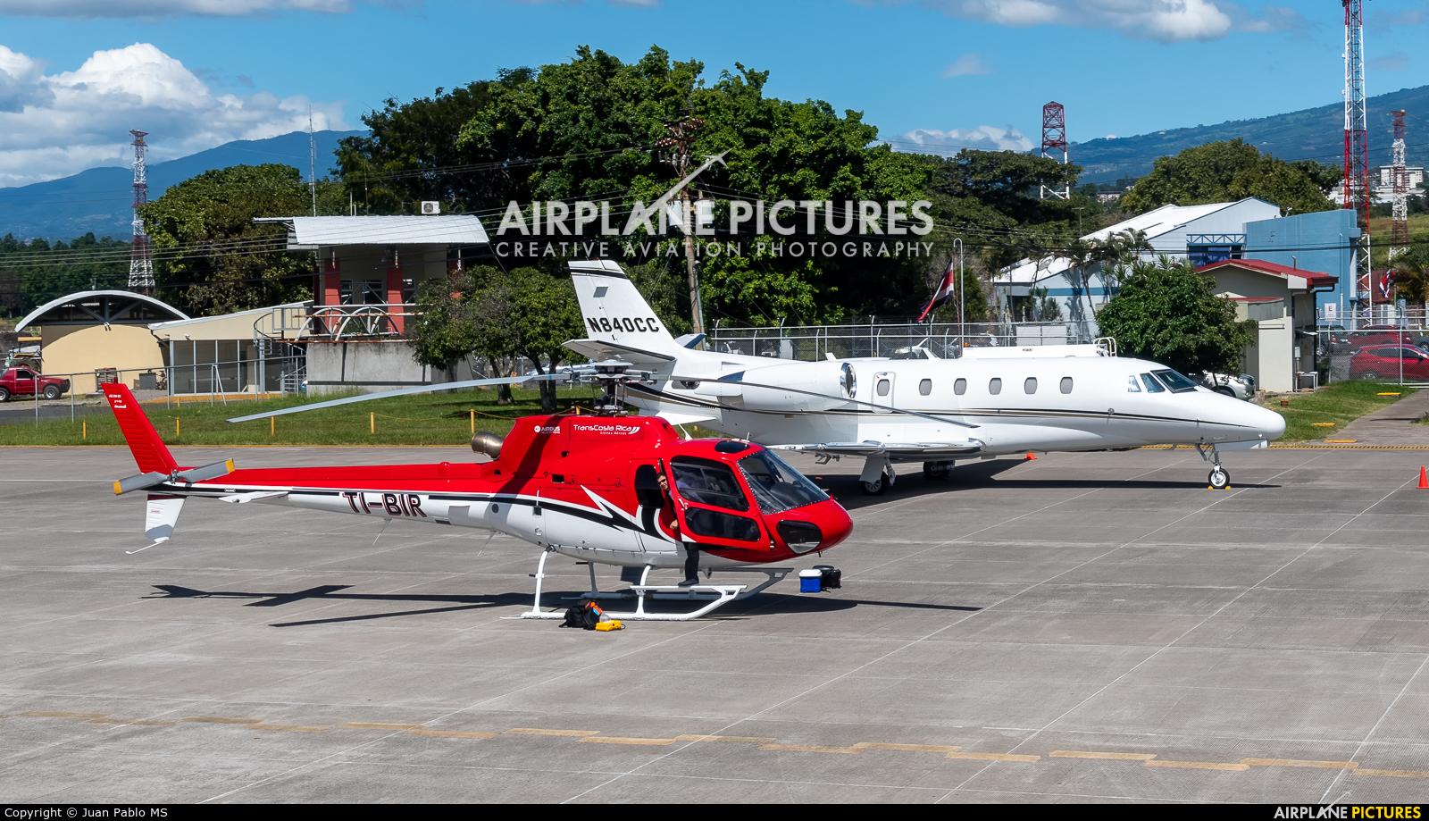 TI-BIR aircraft at San Jose - Tobías Bolaños Intl