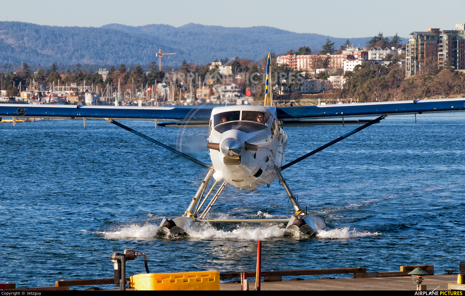 Whistler Air C-GEND aircraft at Victoria Harbour, BC
