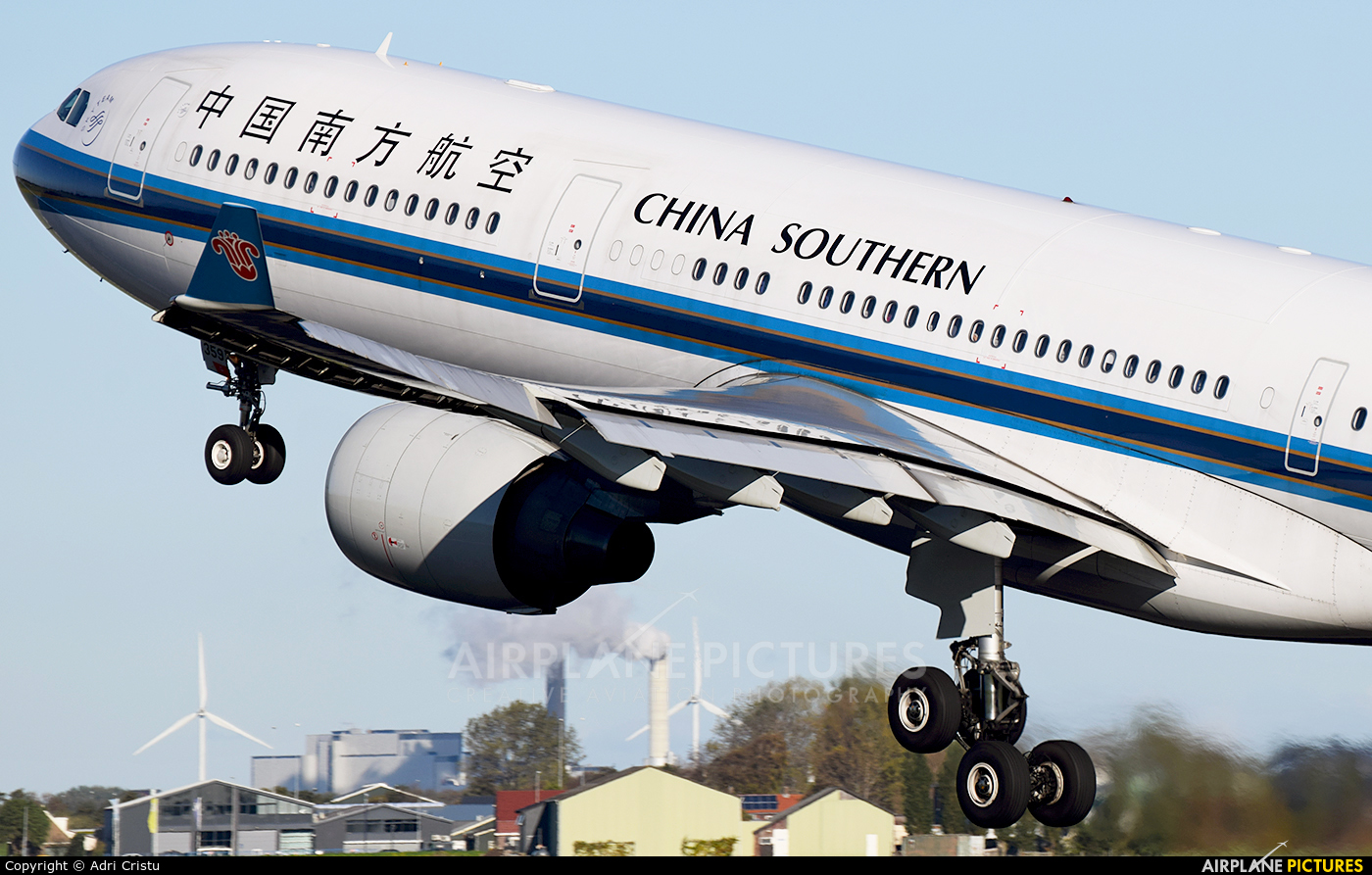 China Southern Airlines B-8359 aircraft at Amsterdam - Schiphol