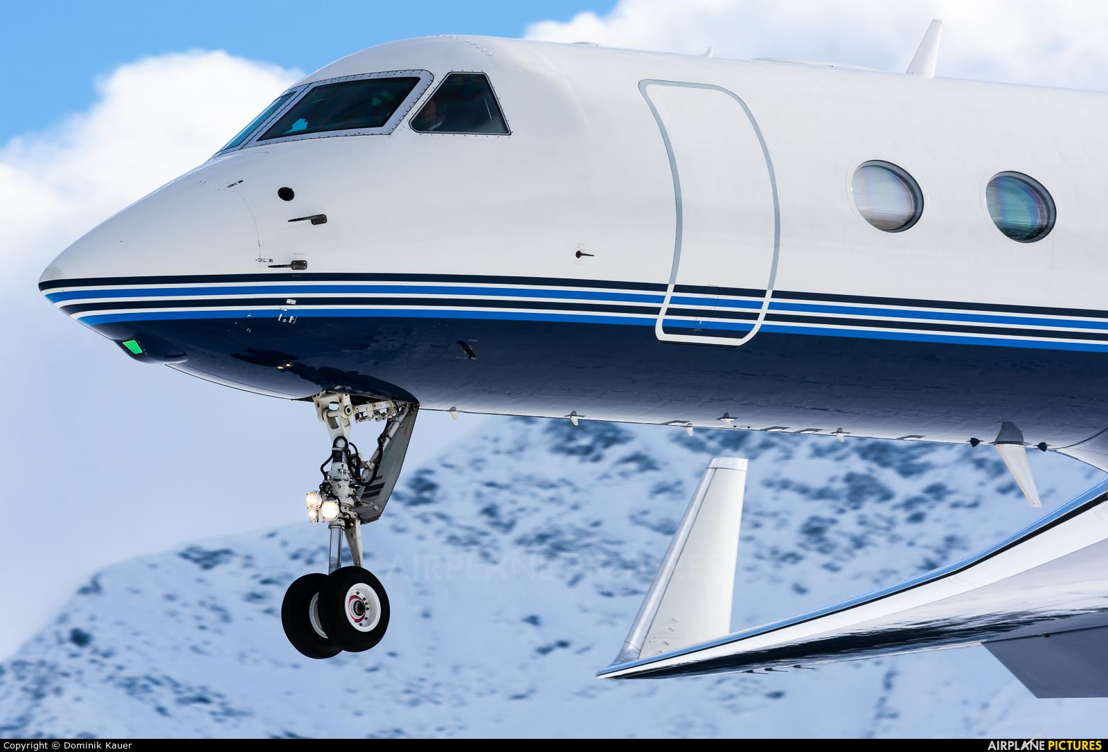 Private VQ-BLA aircraft at Samedan - Engadin