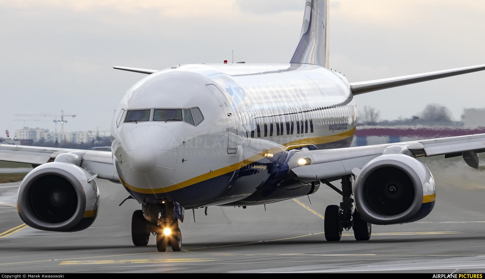 Ryanair EI-DLI aircraft at Warsaw - Frederic Chopin