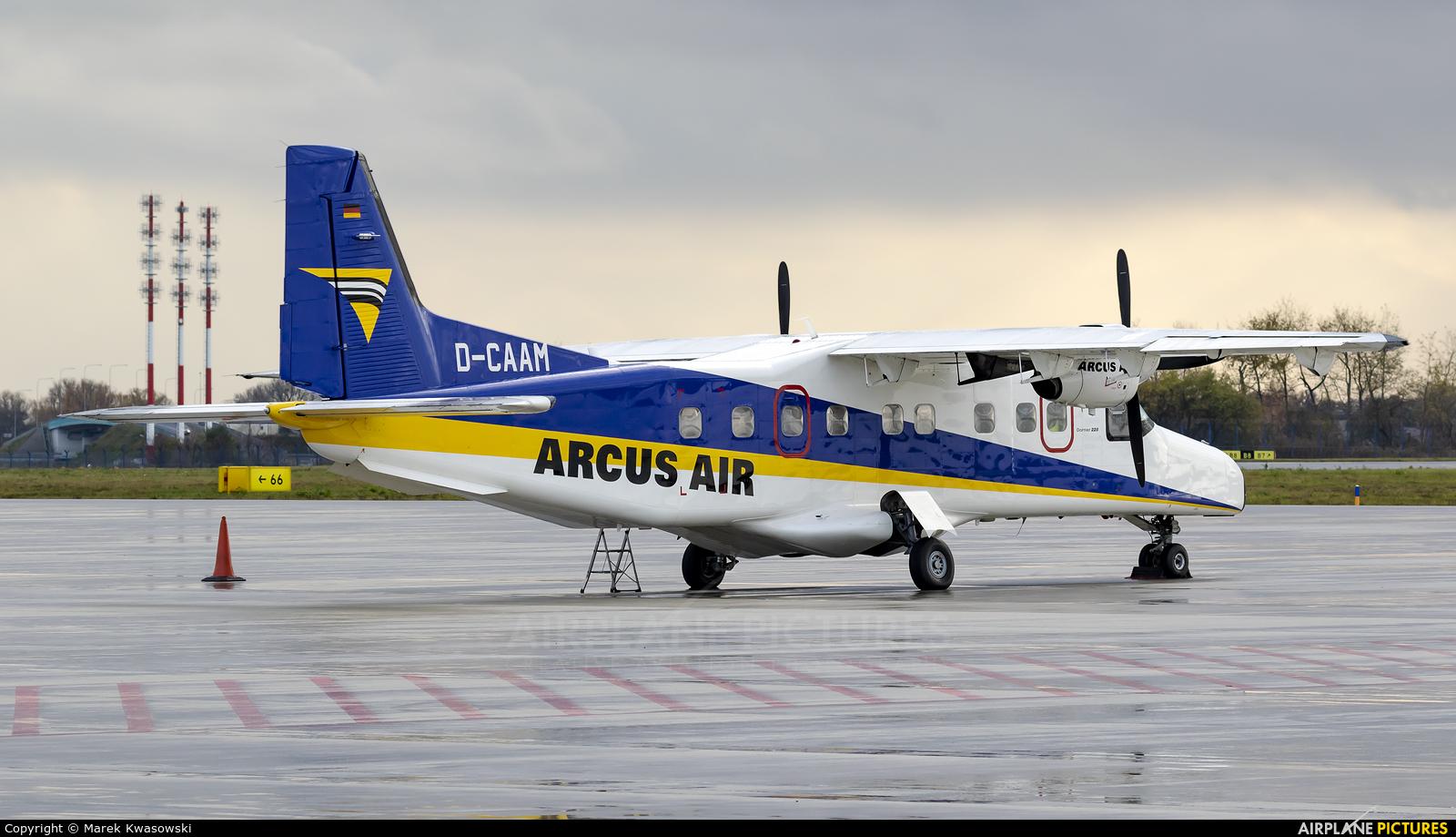Arcus Air D-CAAM aircraft at Warsaw - Frederic Chopin