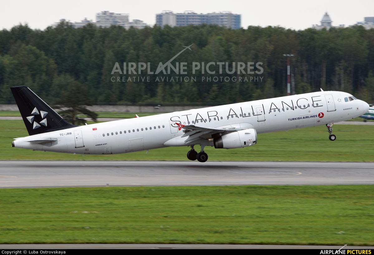 Turkish Airlines TC-JRB aircraft at St. Petersburg - Pulkovo
