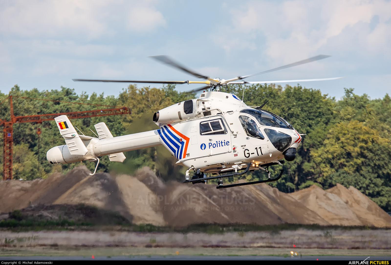 Belgium - Police G-11 aircraft at Kleine Brogel