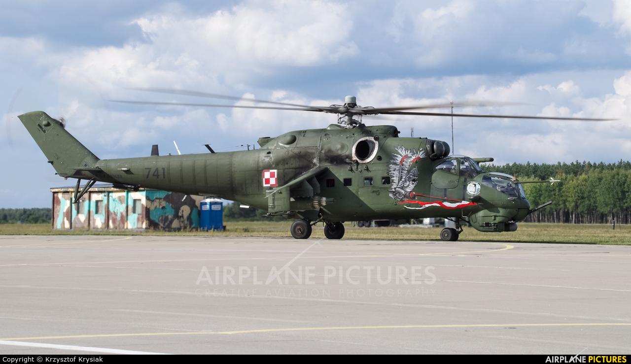 Poland - Army 741 aircraft at Mirosławiec
