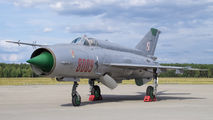 8009 - Poland - Air Force Mikoyan-Gurevich MiG-21MF aircraft