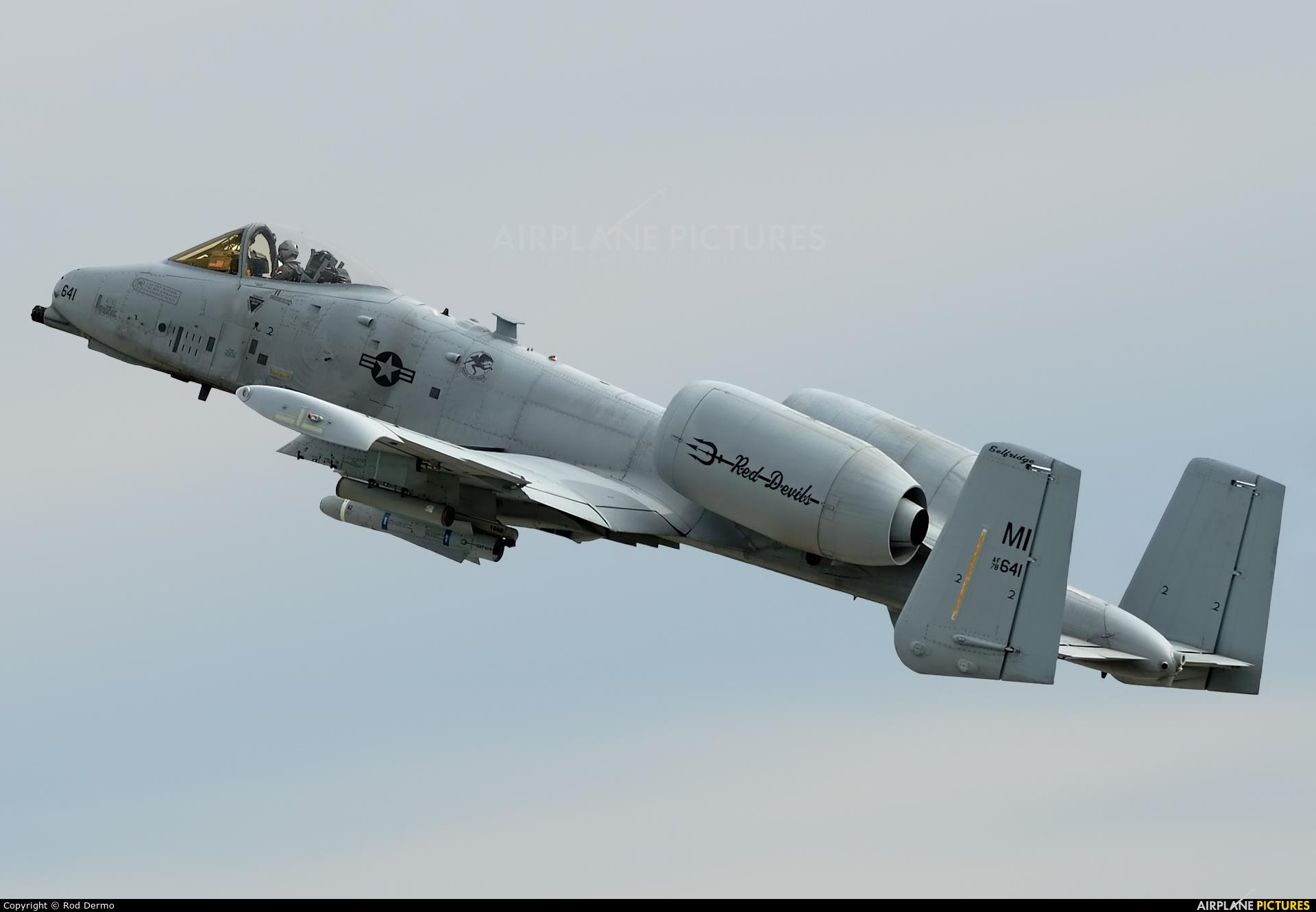USA - Air Force 78-0641 aircraft at London  Intl, ON