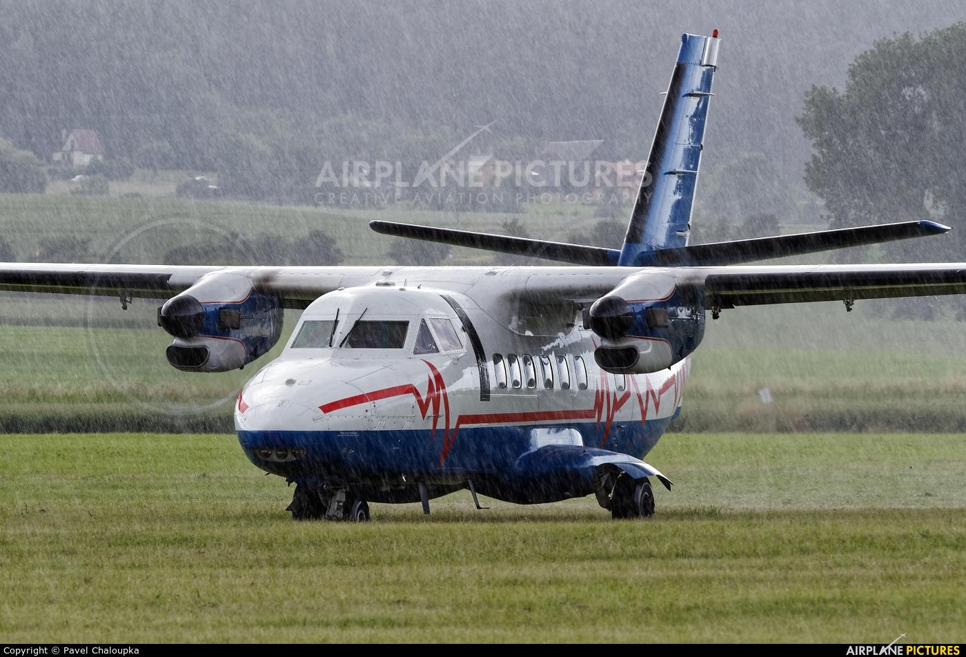 CAA - Czech Aviation Authority OK-WYI aircraft at Jičín