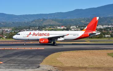 N490TA - Avianca Airbus A320