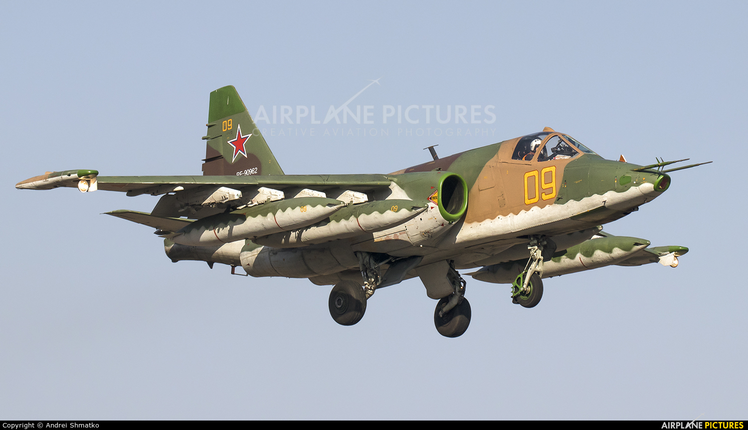 Russia - Air Force RF-90962 aircraft at Off Airport - Russia