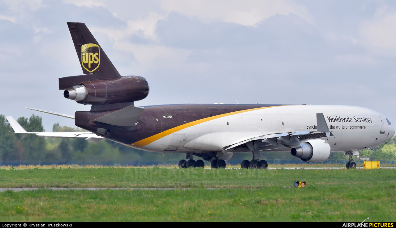 UPS - United Parcel Service N275UP aircraft at Warsaw - Frederic Chopin
