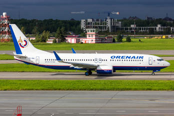 VQ-BWJ - Orenair Boeing 737-800