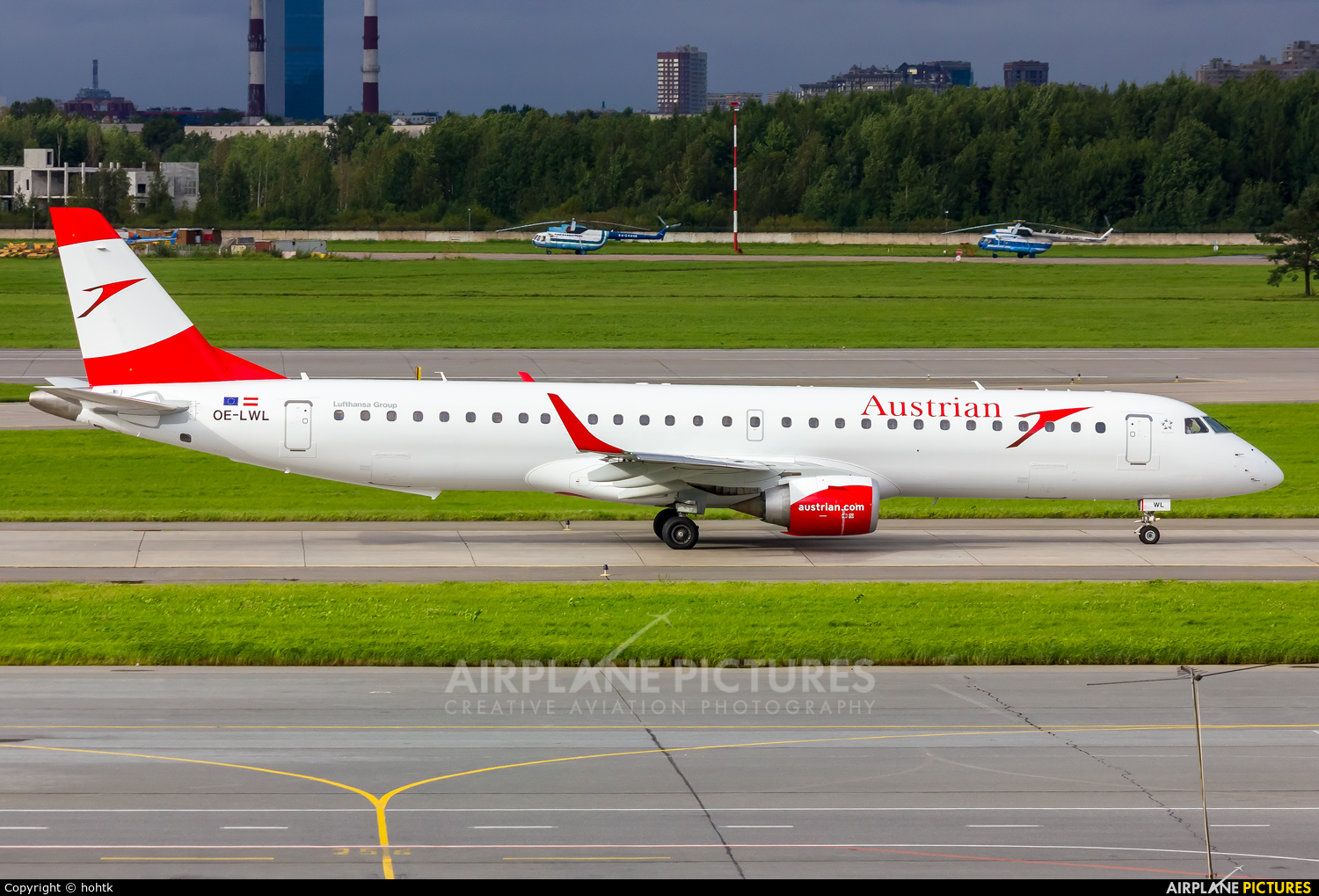 Austrian Airlines/Arrows/Tyrolean OE-LWL aircraft at St. Petersburg - Pulkovo