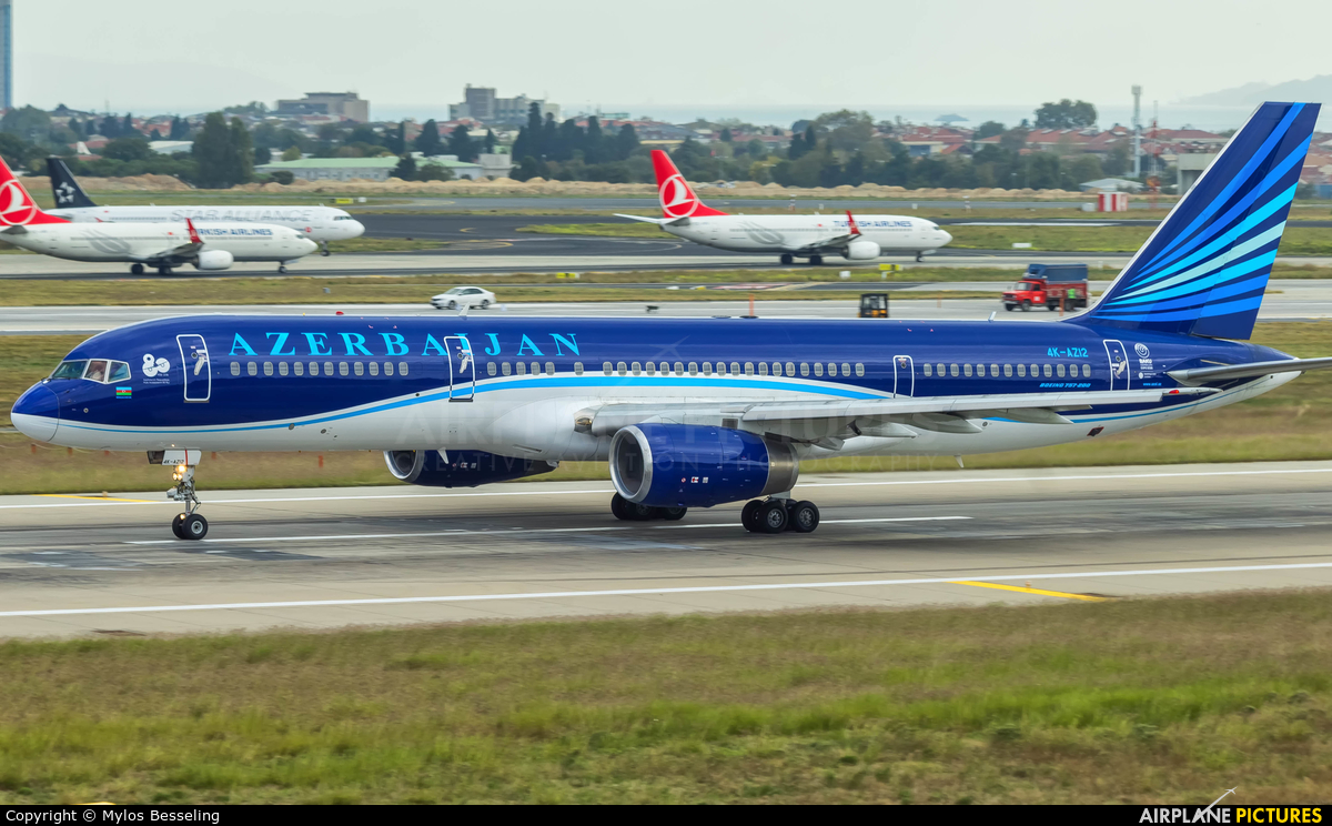 Azerbaijan Airlines 4K-AZ12 aircraft at Istanbul - Ataturk