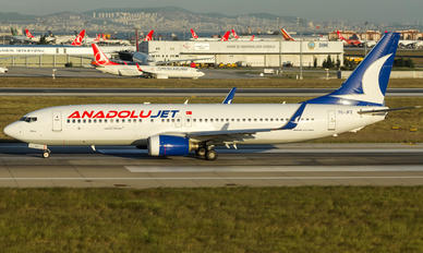 TC-JFZ - AnadoluJet Boeing 737-800