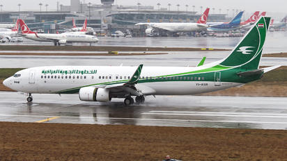 YI-ASR - Iraqi Airways Boeing 737-800