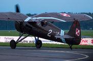 8.63 - Museum of Polish Aviation PZL P.11c aircraft