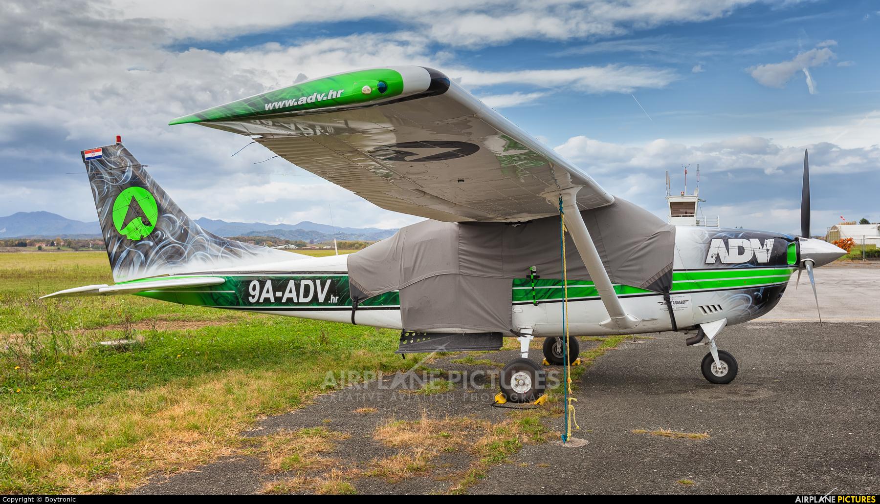 Adventure Driven Vacations d.o.o. 9A-ADV aircraft at Lučko