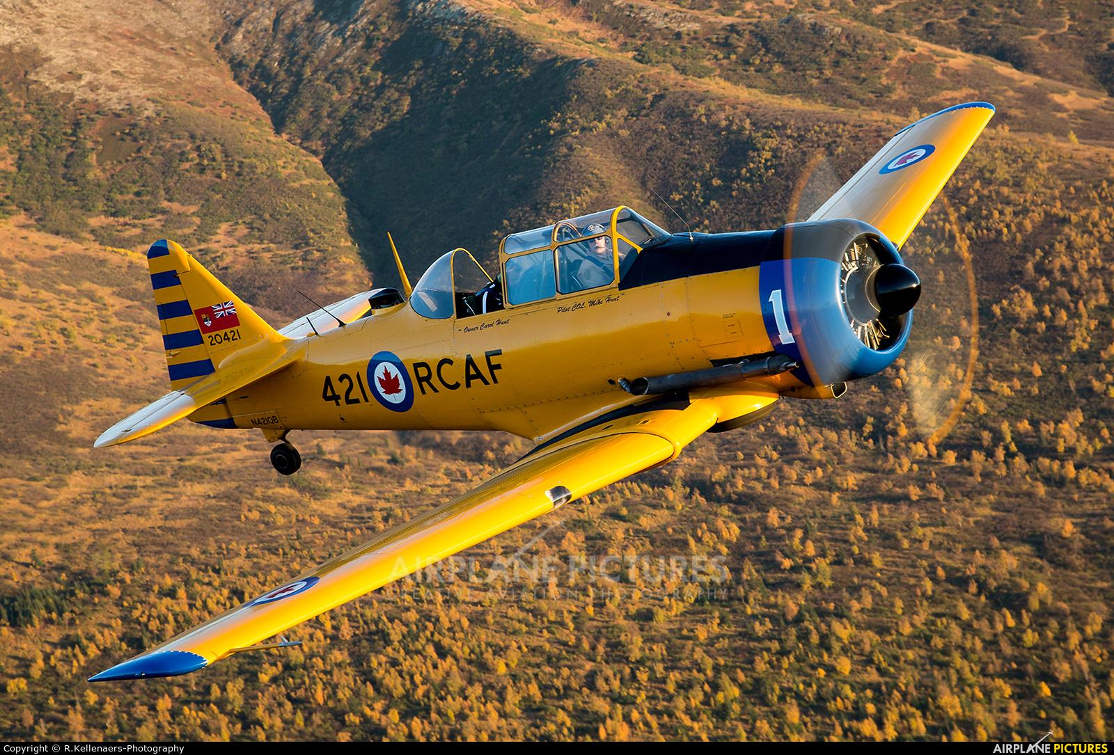 Commemorative Air Force N421QB aircraft at In Flight - Alaska