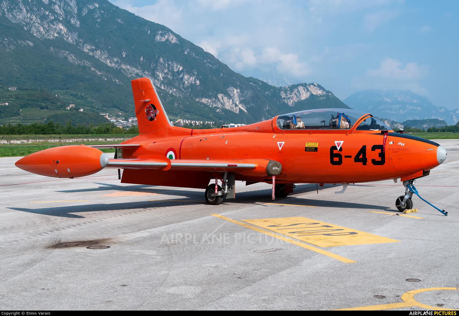 Private I-RVEG aircraft at Trento - Mattarello